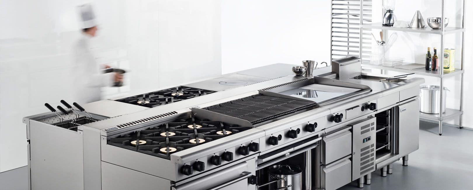 انواع تجهیزات آشپزخانه صنعتی