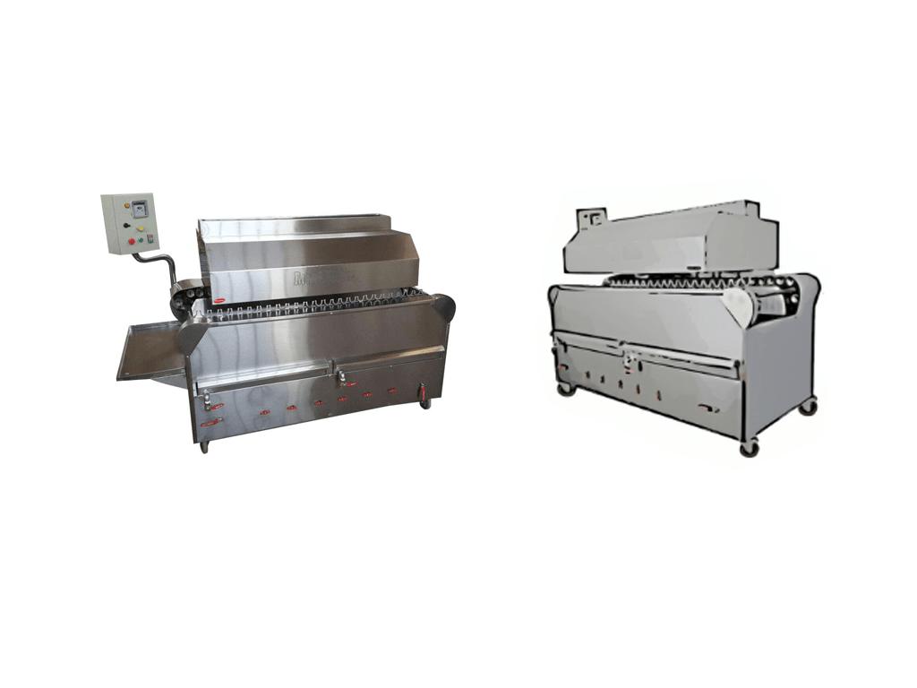 دستگاه کباب پز ریلی با قابلیت پخت 1200 سیخ در ساعت