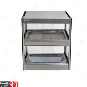 دستگاه-گرمکن-سیب-زمینی-دو-طبقه-(شوتینگ-دو-طبقه-تمام-استیل)-مدل-SHA3
